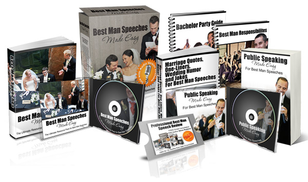 best man speeches made easy package